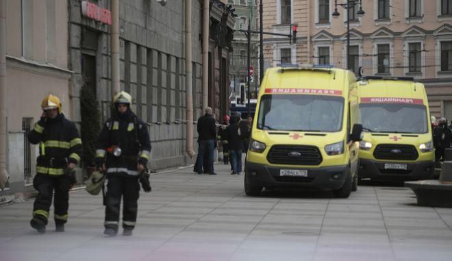 Ρωσία: Συνελήφθη ο 'διοργανωτής' της βομβιστικής επίθεσης στο μετρό της Αγίας Πετρούπολης