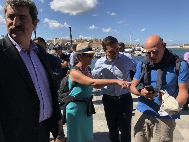 Ο Τσίπρας, ο Βέλγος τουρίστας και η σέλφι