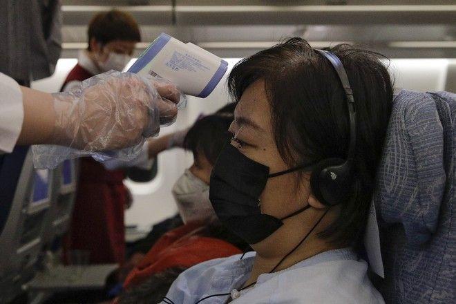 Έλεγχος θερμοκρασίας σε επιβάτες λόγω του κοροναϊού