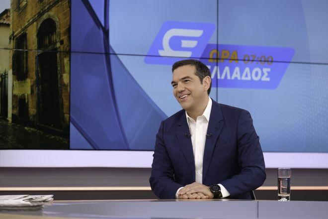 Συνέντευξη Τσίπρα στο Open