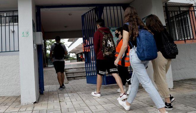 Άνοιγμα των σχολείων (EUROKINISSI)