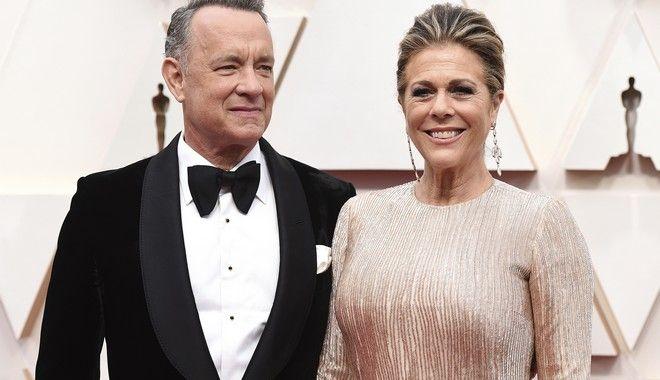 Ο Τομ Χανκς και η σύζυγός του, Ρίτα Ουίλσον