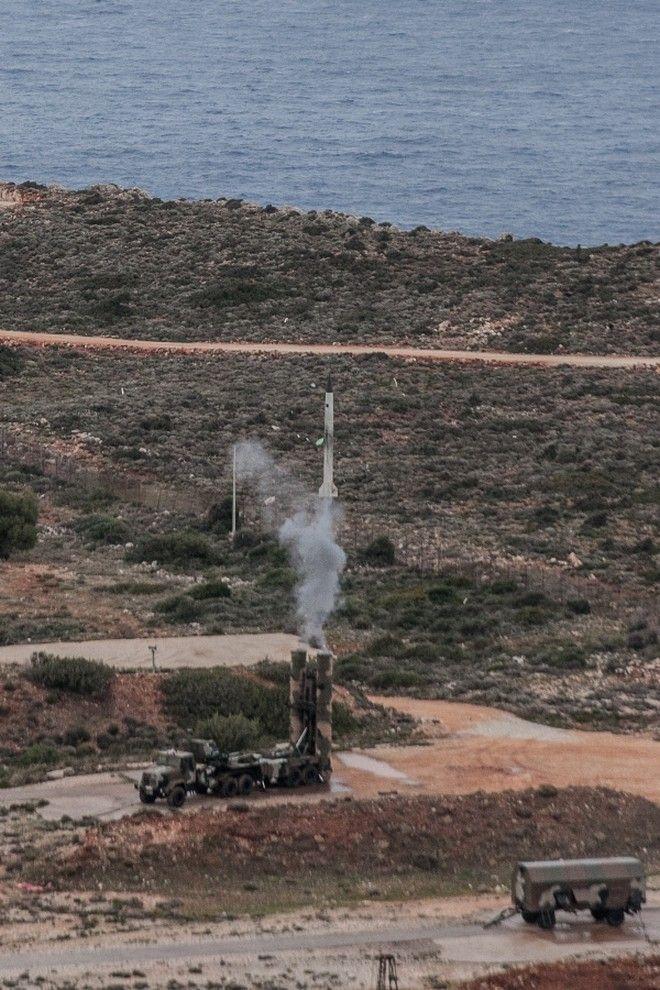 Χανιά: Δοκιμαστική βολή οπλικού συστήματος S300