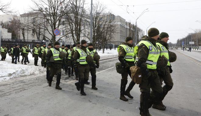 Αστυνομικές δυνάμεις στο Κίεβο, Μάρτιος 2018