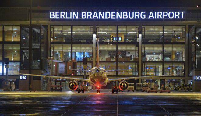 """Το Terminal 1 του νέου αεροδρομίου του Βερολίνου, """"Βίλι Μπραντ"""""""