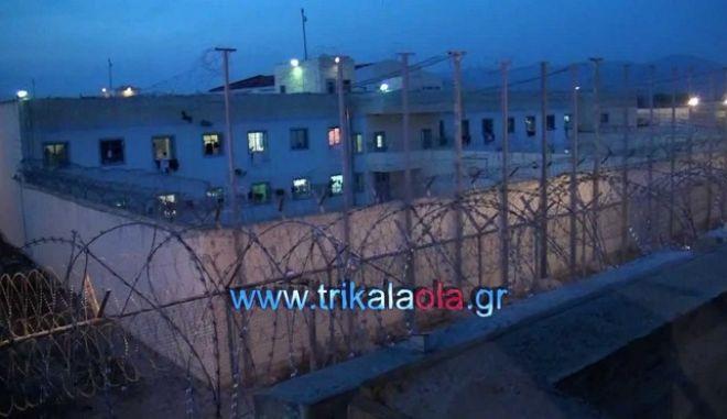 Ομηρία υπαρχιφύλακα στις φυλακές των Τρικάλων