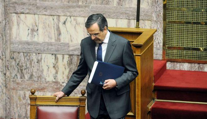 Συζήτηση για τον προϋπολογισμό του 2014 στην Βουλή το Σάββατο 7 Δεκεμβρίου 2013.   (EUROKINISSI/ΑΝΤΩΝΗΣ ΝΙΚΟΛΟΠΟΥΛΟΣ)