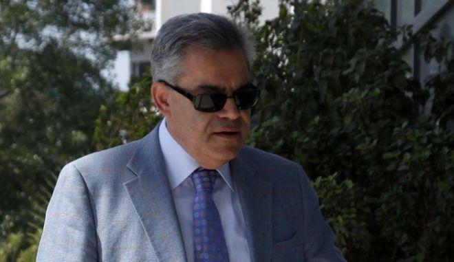 Ο πρώην υπουργός Τάσος Μαντέλης