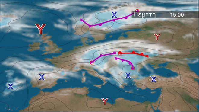 Τα προγνωστικά βροχοπτώσεων στην Ευρώπη