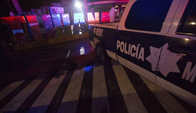 Αστυνομια στο Μεξικό.