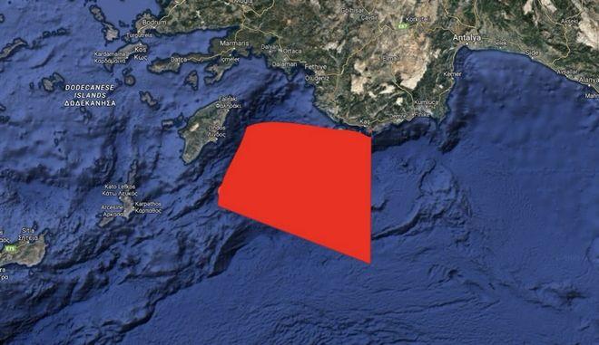 Τουρκική NAVTEX για άσκηση με πραγματικά πυρά με προσανατολισμό τη Λιβύη