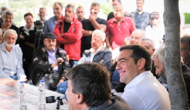 Tσίπρας από Ρέθυμνο: Ζωντανά η ομιλία του προέδρου του ΣΥΡΙΖΑ