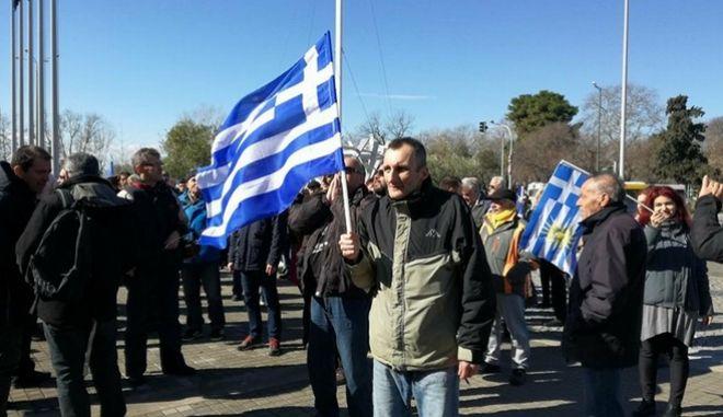 Θεσσαλονίκη: Διαμαρτυρία κατά των δηλώσεων Μπουτάρη