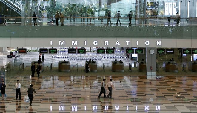 Το διεθνές αεροδρόμιο Changi στη Σιγκαπούρη