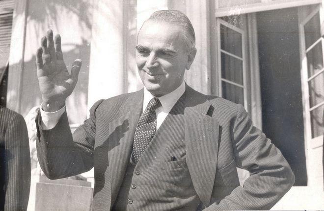 Ο Κωνσταντίνος Καραμανλής το 1958