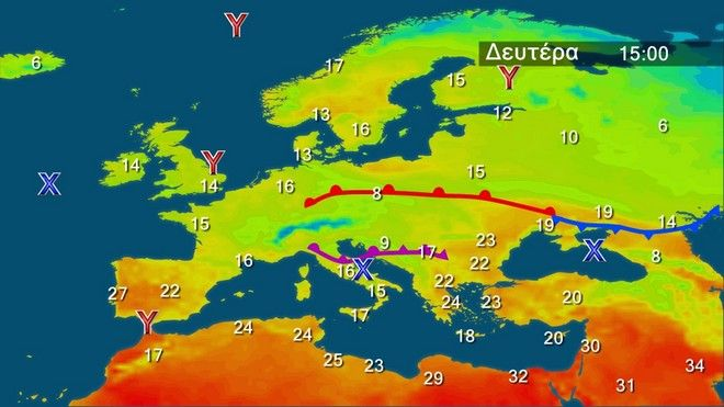Διατηρείται η ζέστη την Δευτέρα του Πάσχα – Mε καλό καιρό η επιστροφή των εκδρομέων