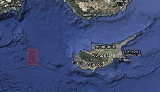 """Τουρκία: Navtex στο """"τριεθνές"""" Ελλάδας - Κύπρου - Αιγύπτου"""