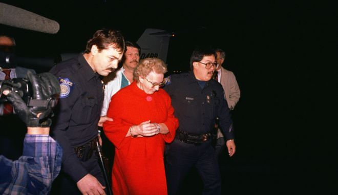 Η στιγμή της σύλληψης της Δωροθέα Πουέντε