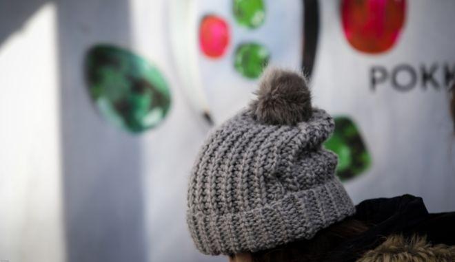 Χαμηλές θερμοκρασίες στην Αθήνα την Πέμπτη 25 Ιανουαρίου 2018. (EUROKINISSI/ΓΙΑΝΝΗΣ ΠΑΝΑΓΟΠΟΥΛΟΣ)