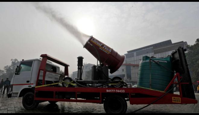 Ινδία: Ένα τεράστιο 'πιστολάκι' στη μάχη κατά του νέφους