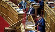 Βουλή: Παρεμβάσεις Μητσοτάκη - Τσίπρα, πριν ψηφιστεί το νομοσχέδιο για τα 12 μίλια