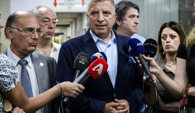 Ο Πρόεδρος του Ιατρικού Συλλόγου Αθηνών και Περιφερειάρχης Αττικής, Γιώργος Πατούλης