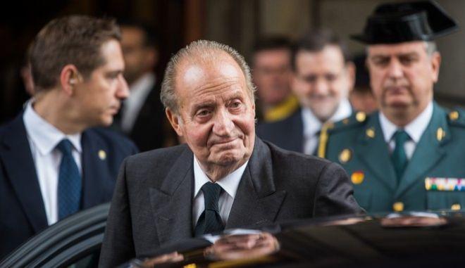 Ο τέως βασιλιάς της Ισπανίας, Χουάν Κάρλος