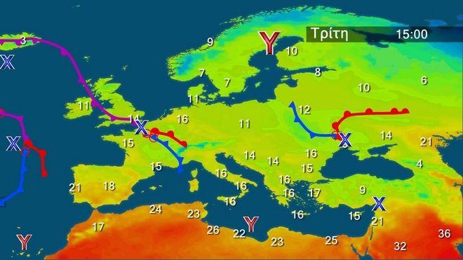 Καιρός: Περιορίζεται η αστάθεια – Χωρίς αλλαγή η θερμοκρασία