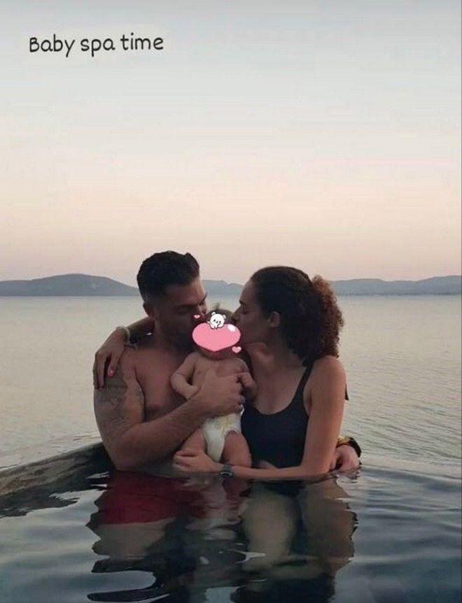 GNTM - Μαριάννα Παινέση: Η φωτογραφία με τον σύζυγο και την κόρη τους