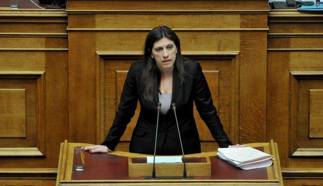 Κωνσταντοπούλου: Όχι στο πραξικόπημα και τον εκβιασμό