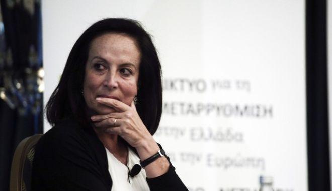 Διαψεύδει κατηγορηματικά η Διαμαντοπουλου τα περί ένταξης στη ΝΔ