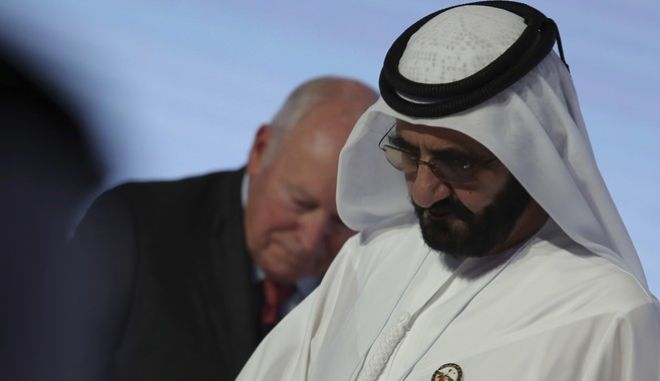 Ο Μοχάμεντ Μπιν Ράσιντ Αλ Μακτούμ, κυβερνήτης του Ντουμπάι και αντιπρόεδρος της κυβέρνησης των Αραβικών Εμιράτων