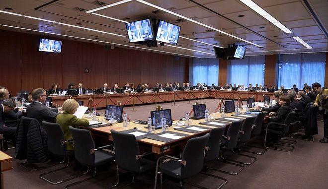 Συνεδρίαση του Eurogroup την Δευτέρα 5 Νοεμβρίου 2017, στις Βρυξέλλες. (EUROKINISSI/ΕΥΡΩΠΑΪΚΗ ΕΝΩΣΗ)