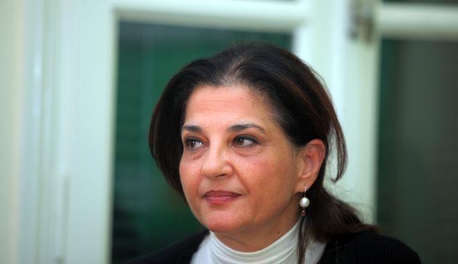 Η Ιωάννα Κοντούλη, υποψήφια ευρωβουλευτής του ΣΥΡΙΖΑ