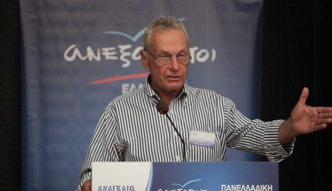 Ο αντιπρόεδρος των ΑΝΕΛ Παναγιώτης Σγουρίδης