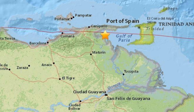 Βενεζουέλα: Ισχυρή σεισμική δόνηση