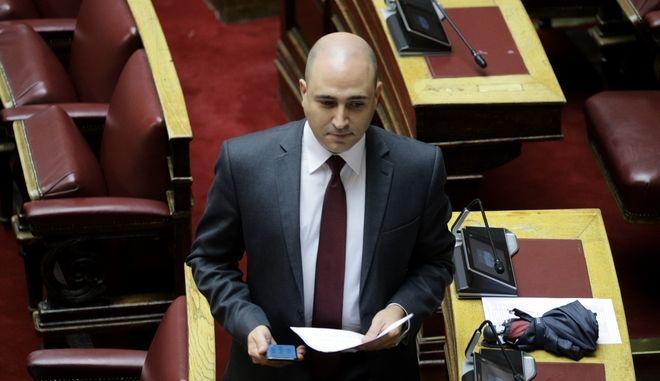 Ο βουλευτής της ΝΔ Κωνσταντίνος Μπογδάνος
