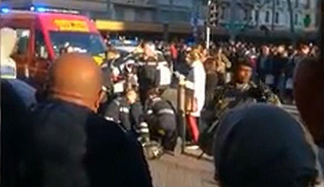 Στιγμιότυπο από το περιστατικό στη Μασσαλία