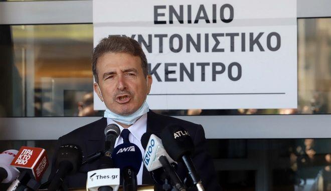 """Χρυσοχοΐδης: """"Ο ιός δεν μεταδίδεται έξω - Θα βάλουμε κάμερες σε ΜΑΤ και ΔΡΑΣΗ"""""""