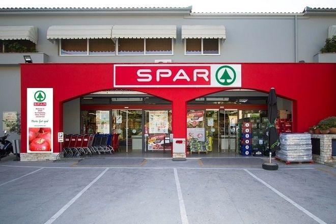 Το κατάστημα της  Spar Σκούρας στην Σκιάθο
