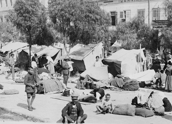Έλληνες που εκδιώχθηκαν από την Τουρκία και μεταφέρθηκαν στην Ελλάδα, κατά την Μικρασιατική καταστροφή, 1922