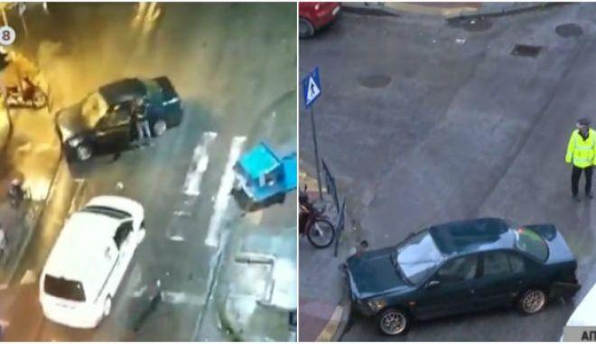 Θεσσαλονίκη: Προκάλεσε ατύχημα, παράτησε το αυτοκίνητο στη μέση του δρόμου κι έφυγε