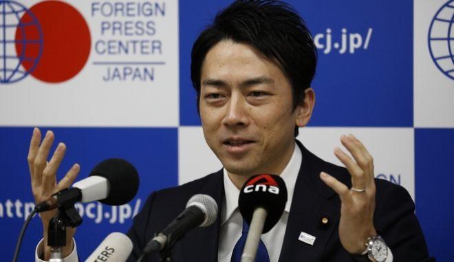 Ο Ιάπωνας υπουργός Περιβάλλοντος Σινζίρο Κοϊζούμι