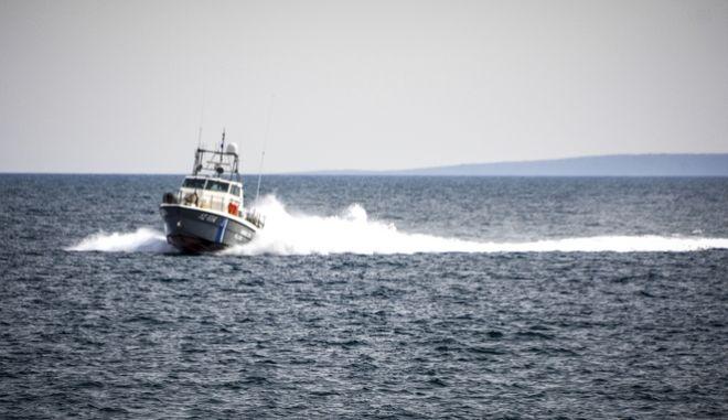 Σκάφος του Λιμενικού. Φωτογραφία αρχείου.