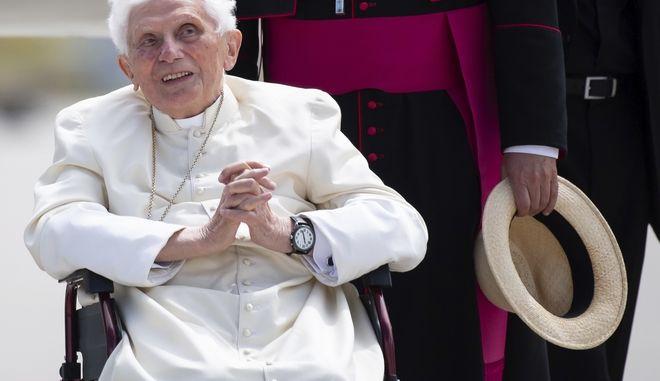 Ο πρώην πάπας Βενέδικτος ο ΙΣΤ΄