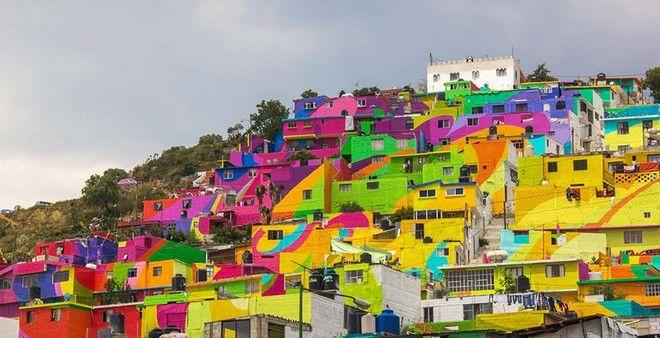 Εκπληκτικές εικόνες: Όταν το γκράφιτι νικάει τη βία
