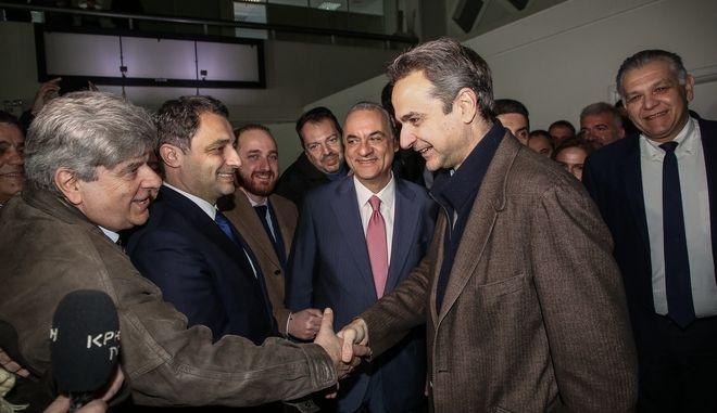 Περιοδεία του Πρωθυπουργού Κυριάκου Μητσοτάκη στην Κρήτη.