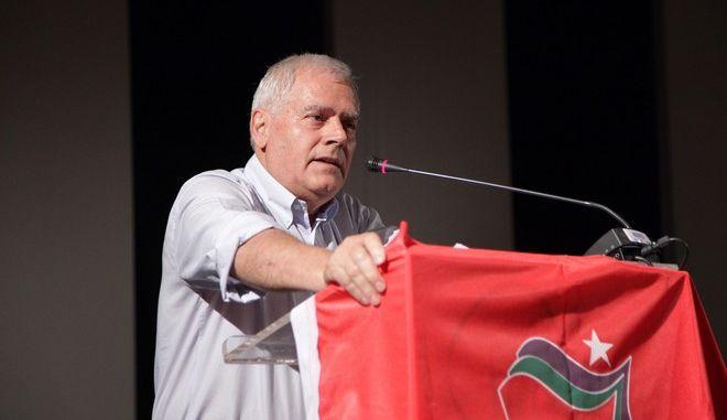 Ο Νίκος Σκορίνης, μέλος της Πολιτικής Γραμματείας του ΣΥΡΙΖΑ