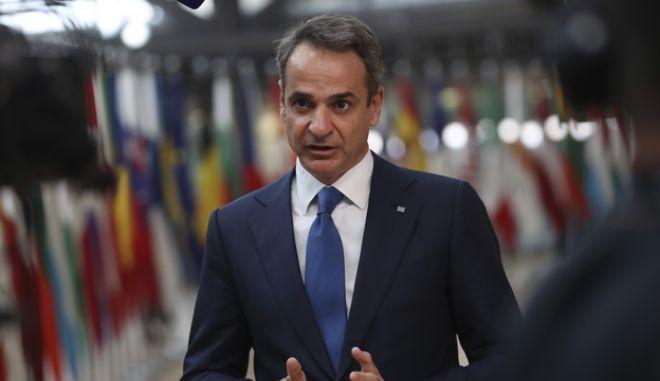 Μητσοτάκης σε Σύνοδο Κορυφής: Ξεκάθαρες επιλογές για αυστηρές κυρώσεις έναντι της Τουρκίας