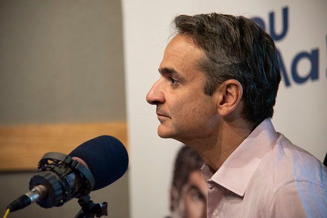 Ο πρόεδρος της ΝΔ Κυριάκος Μητσοτάκης στον Sport24 Radio 103,3